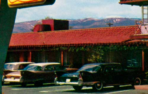 Donner Inn Motel In Reno Nevada 1960 Plymouth Fury